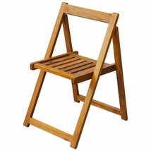 vidaXL 2x Solid Acacia Wood Folding Garden Chairs Outdoor Seat Dining Chair image 2