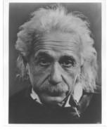 Albert Einstein German Physicist QP Vintage 8X10 BW Historical Memorabil... - $4.99