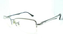 Ray-Ban RB 6212 2502 Silver 51-17-140 Half Rim Metal Eyeglasses Frame Me... - $39.99