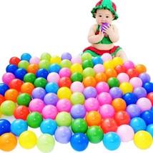 100 Pcs Colorful Ball Soft Plastic Ocean Ball Pits Baby Kid Swim Water P... - £15.07 GBP