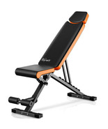 Adjustable Dumbbell Weight Bench Full Body Workout Folding Incline Decli... - $148.50