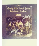 David Crosby Neil Young Stephen Stills Graham Nash album signed - $299.00