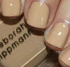 Deborah Lippmann Nail Lacquer Polish in Shifting Sands (Vanilla Almond B... - $6.58