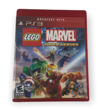 LEGO Marvel Super Heroes GREATEST HITS (Sony PlayStation 3) PS3 GAME Com... - $9.89