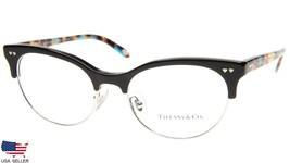New Tiffany & Co Tf 2156 8236 Brown / Havana Eyeglasses Frame 51-17-140mm Italy - $138.60