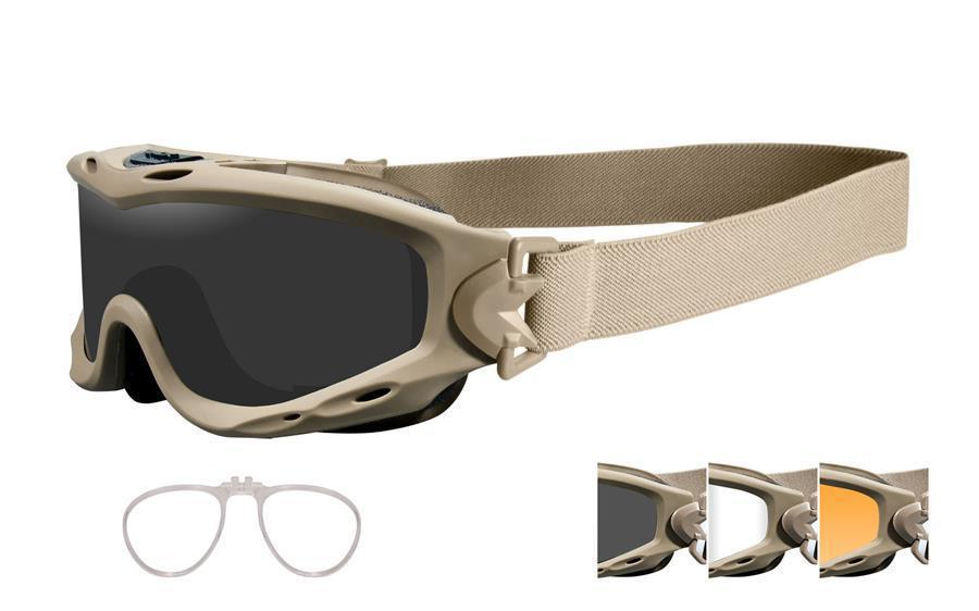 fa336910a2 NEW Wiley X Spear Goggle Grey Clear Rust Tan and 50 similar items