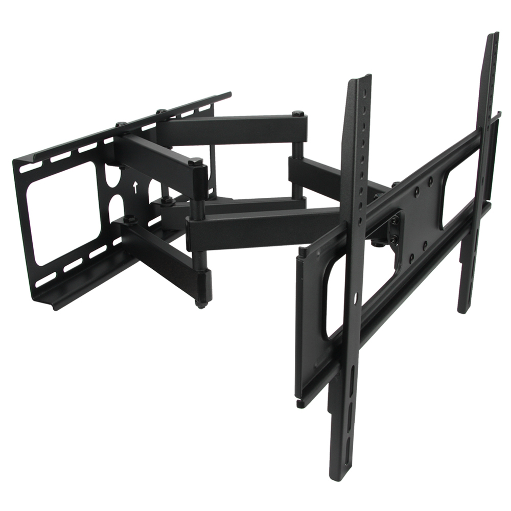 MegaMounts Full Motion Double Articulating Wall Mount for 32 to 70 Inch Screens
