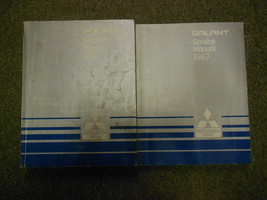 1987 Mitsubishi Galant Service Repair Shop Manual 2 Vol Set Factory Oem Book 87 - $15.12