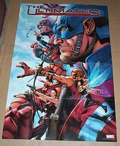 Avengers The Ultimates Marvel Comics promo poster: Captain America/Iron ... - $29.69