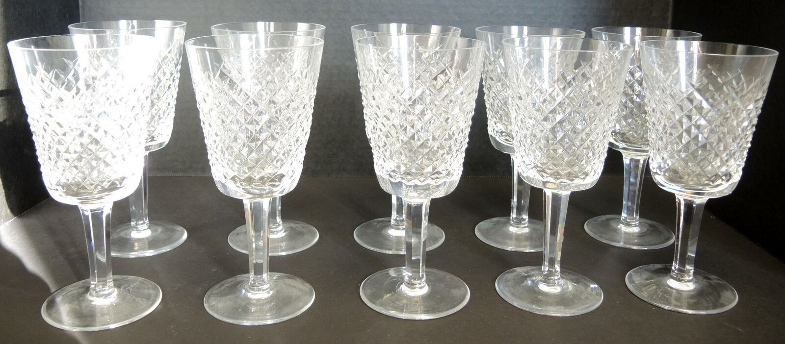 Primary image for Ten Waterford Water Goblets  - Alana Pattern