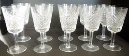 Ten Waterford Water Goblets  - Alana Pattern - $237.49