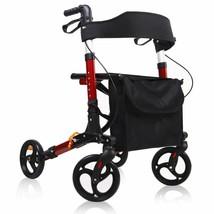 Give Me Medical Rollator Walker 4 Wheel Foldable Compact Rolling Walker ... - $129.56