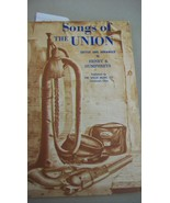 Songs of the Union by Henry S. Humphreys 1961 soft cover from Willis Mus... - $11.14