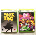 Burger King Microsoft Xbox 360 Sneak King & Big Bumpin Video Game Set 2/3 - $14.73