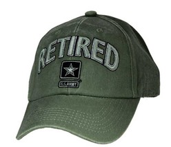 US ARMY RETIRED - U.S. Army with Army Star Officially Licensed Baseball ... - $21.95
