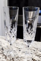 Gorham King Edward Crystal Champagne Flutes (Set Of 2) - $52.25