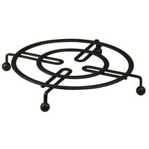 "Home Basics Black Flat Wire Table Trivet 8.25"" x 8.25"" x 1"" - $9.89"