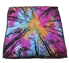 Traditional Jaipur Square Floor Cushion Decorative Throw Pillowcase 35 x 35 inch - $19.79