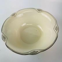 Vintage  30's Homer Laughlin C35  Platinum Trim Marigold  - Art Deco - $24.75