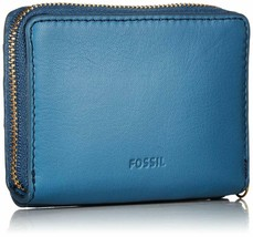 Fossil Women'S Fiona Leather Zip Around Coin Wallet image 2