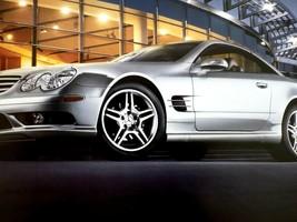 2008 Mercedes sl 55 amg sl 550 sl 600 owners sales brochure  w230 - $29.69
