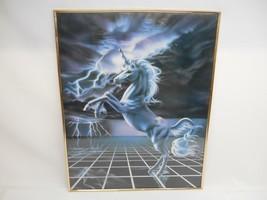 unicorn art tile COASTER gift JSCHMETZ modern folk art horse wine