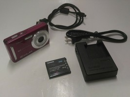 CASIO Exilim EX-Z29 10.1MP Digital Camera 3x Zoom w/ Battery Tested Work... - $39.99