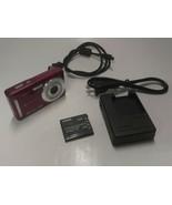CASIO Exilim EX-Z29 10.1MP Digital Camera 3x Zoom w/ Battery Tested Work... - $39.99
