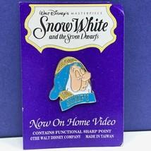 Snow White seven dwarfs pin button pinback masterpiece 7 dwarves disney Sleepy - $14.45