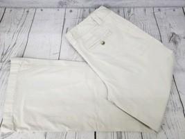 Ann Taylor Dress Pants Sz 8 Women Khaki Cargo Pocket 2 Button Casual Tro... - $12.87