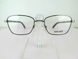 Nine West NW 1073 (033) Gunmetal  52 x 18 135 mm Eyeglass Frames - $64.30