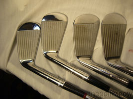 Vintage Tommy Armour Irons 2 - 9 Some are Rechromed with Rust image 3