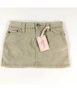 Brooklyn Girl Tan Jean Skirt 10 NWT - $19.79
