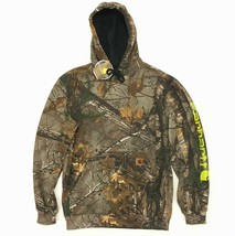 New Men's Carhartt Camo Pullover Hoodie Realtree XTRA Camouflage Midweight - $49.99