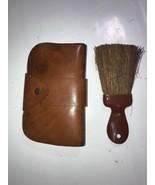 Vintage Henri rare Primitive Hand Held Horse Hair Brush Broom  - $37.39