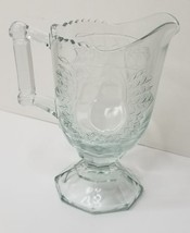 Vintage Jeannette BALTIMORE PEAR Glass Footed Creamer - $14.84