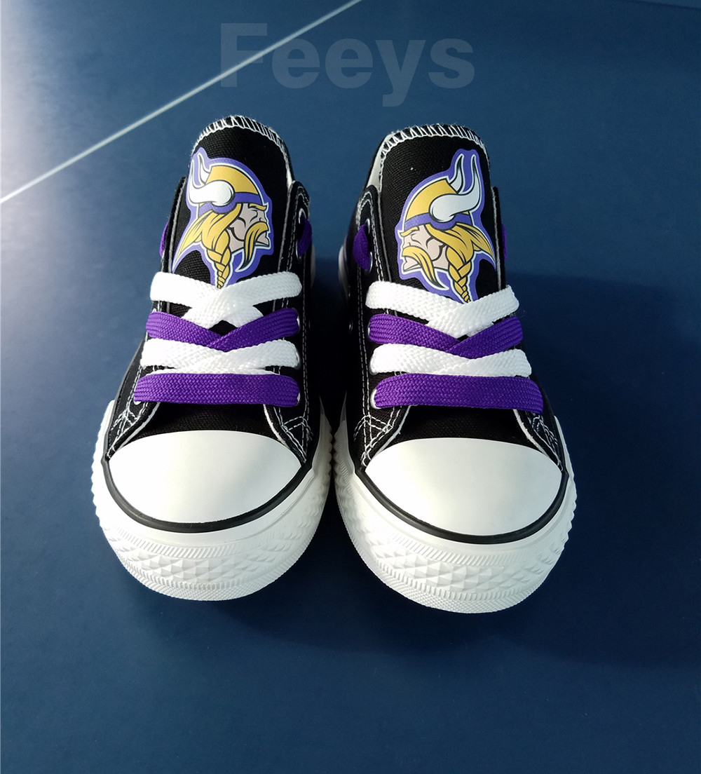 Minnesota Vikings shoes Vikings sneakers Fashion Christmas gift birthday gift