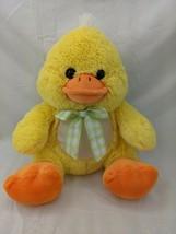 "Kellytoy Yellow Duck Plush 10"" 2017 Stuffed Animal Toy - $14.95"