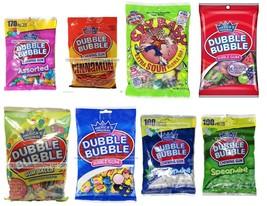 DUBBLE BUBBLE* (1) Bag BUBBLE+CHEWING GUM Candy *YOU CHOOSE* Exp. 1/20+ ... - $2.69