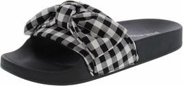 Steve Madden Women's SILKY-G Slide Sandal Black Multi - $34.99