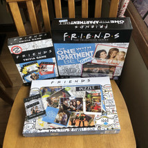 Friends Puzzle 1000 Trivia Game Bet Game and playing cards entertainment package - $34.65