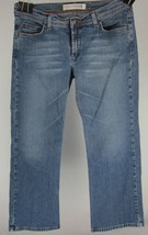 Express Precision Fit Women's Blue Jeans 9/10R Stretch Low Rise Straight EUC - $9.86