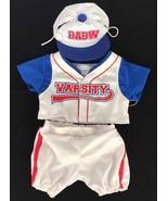 Build A Bear Clothing Varsity baseball clothes  - $11.21