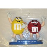 M&ms M&m Candy Dispenser (Loose, No Package) : Red & Yellow M&m - $29.69
