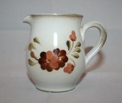 Vintage Denby Serenade Creamer Made in England Flower Retro - $30.97