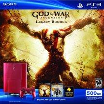 PS3 500 GB God of War Ascension Legacy Bundle [video game] - $272.24