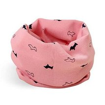 2PCS Cotton Baby Scarves Cute Warm Neckerchiefs Great Gifts for Your Children