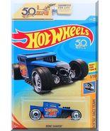 Hot Wheels - Bone Shaker: HW 50th Race Team #1/10 - #258/365 (2018) *Blue* - $3.00