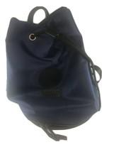 Versace Parfums Bucket Bag Backpack Blue Black Drawstring Unisex  - $69.29
