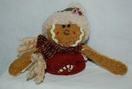 Hannas Handiworks 27148 Stretch Gingerbread Man 3 Set Christmas Ornament image 7